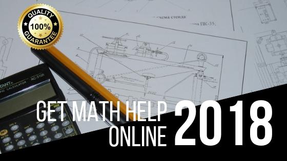 Get Math Homework Help Online Now