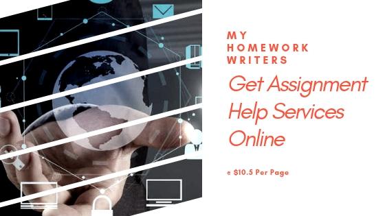 Get Assignment Help Services Online | My Homework Writers